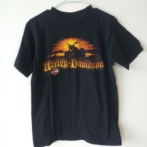 Harley Davidson 2006 Big Moose tshirt Maine